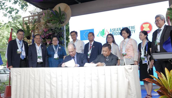 EU, ACB launch 5-year biodiversity-conservation project for Asean
