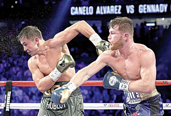 Golovkin and Alvarez draw boxing fight