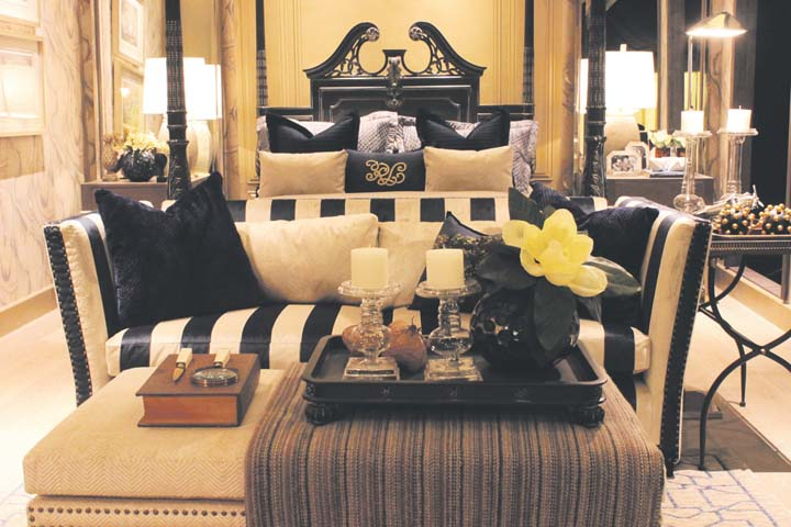 In photo psid alumnus michael pizarrao lets details do the talking in his bedroom display