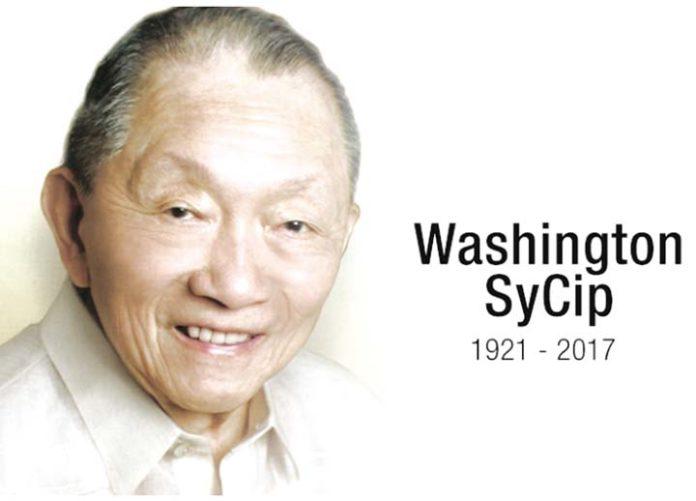 Malacañang, business community mourn death of Washington Sycip