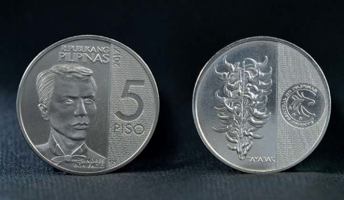 BSP Bares New 5-peso Coins Under The NGC Series