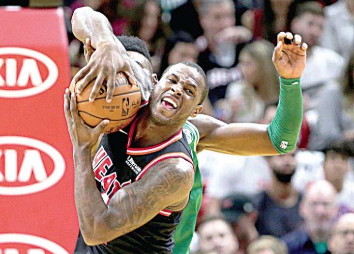 Mistakes burn Celtics in 104-98 loss to Heat, ending win streak
