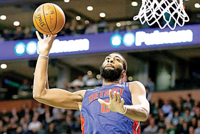 Andre Drummond posts a monstrous double-double in Pistons' win