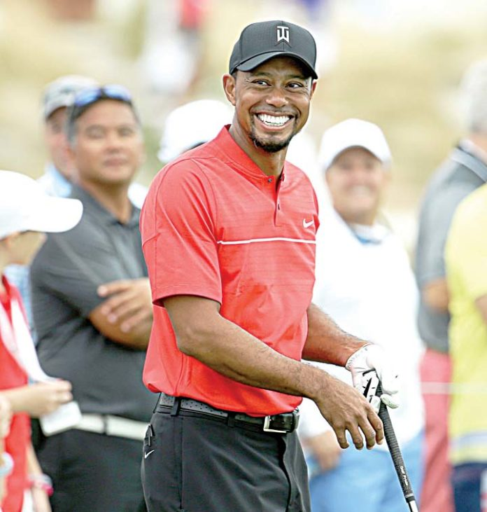 Tiger Woods says lack of back pain 'just remarkable' ahead of return