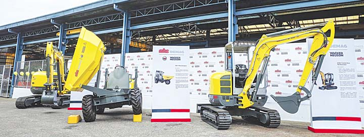 Mhe demag partners with wacker neuson businessmirror for Motoring technical training institute