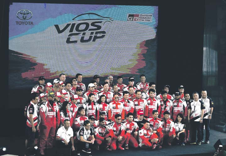 Toyota vios cup 2017 edition ends businessmirror for Motoring technical training institute