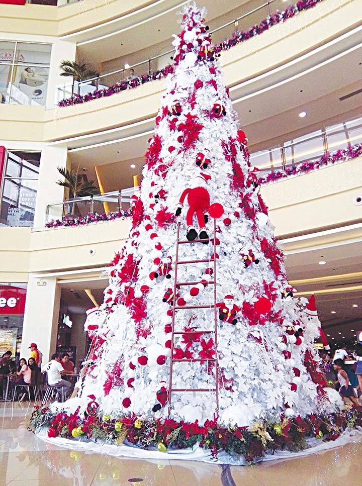 How Many Lights Per Foot Of Christmas Tree.Bulacan Lights 50 Foot Christmas Tree To Symbolize Light