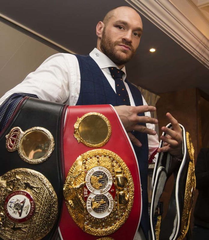 UK's Anti-Doping Allows Tyson Fury to Resume Boxing Career