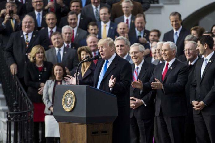 It's the law! President Trump signs Tax Cut and Reform Bill