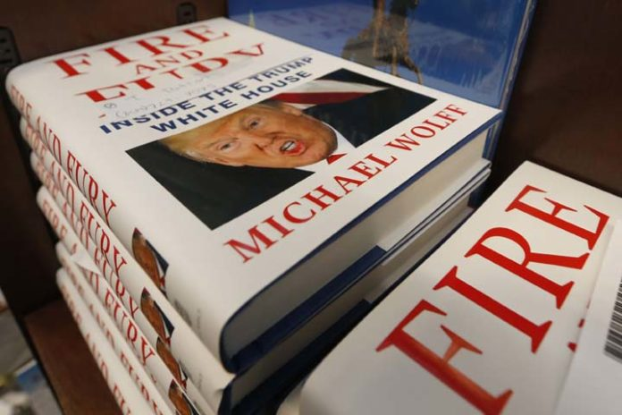 Controversial book 'Fire and Fury' sells out in Austin