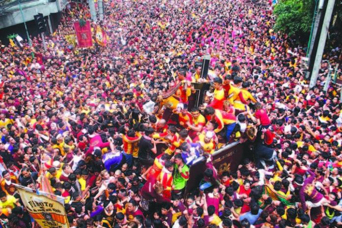 Black Nazarene parade in Manila