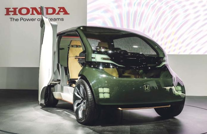 Honda Cars India Unveil Sports EV Concept and NeuV EV Concept