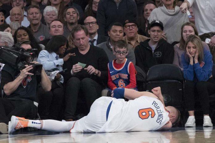 Porzingis Undergoes Successful Knee Surgery, Knicks Say