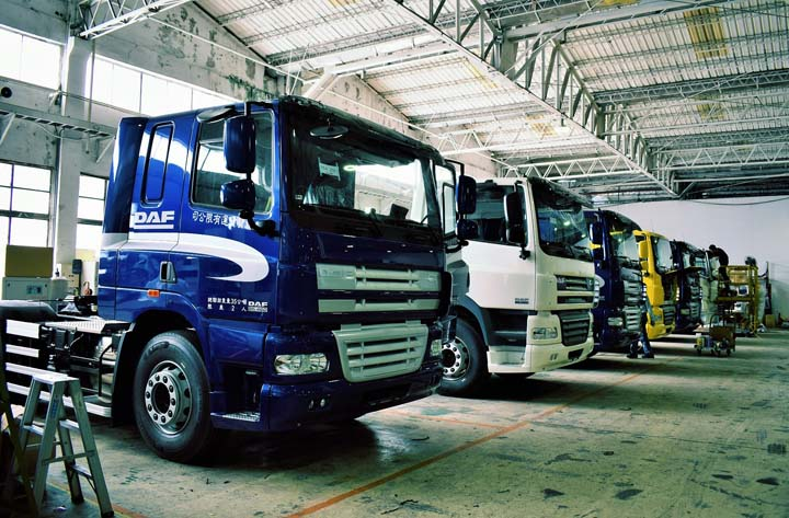 Daf trucks offers reliable movers and loaders businessmirror for Motoring technical training institute