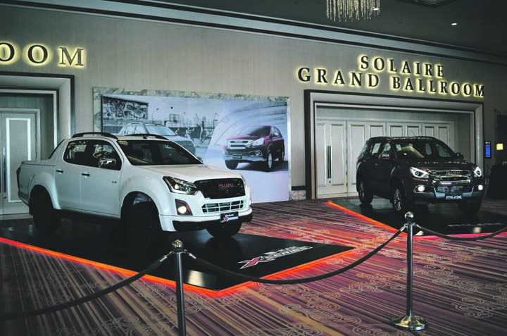 Isuzu offers d max and mu x limited editions businessmirror for Motoring technical training institute