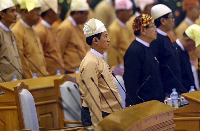 Myanmar's parliament elects a new president
