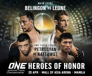 One FC April 2018