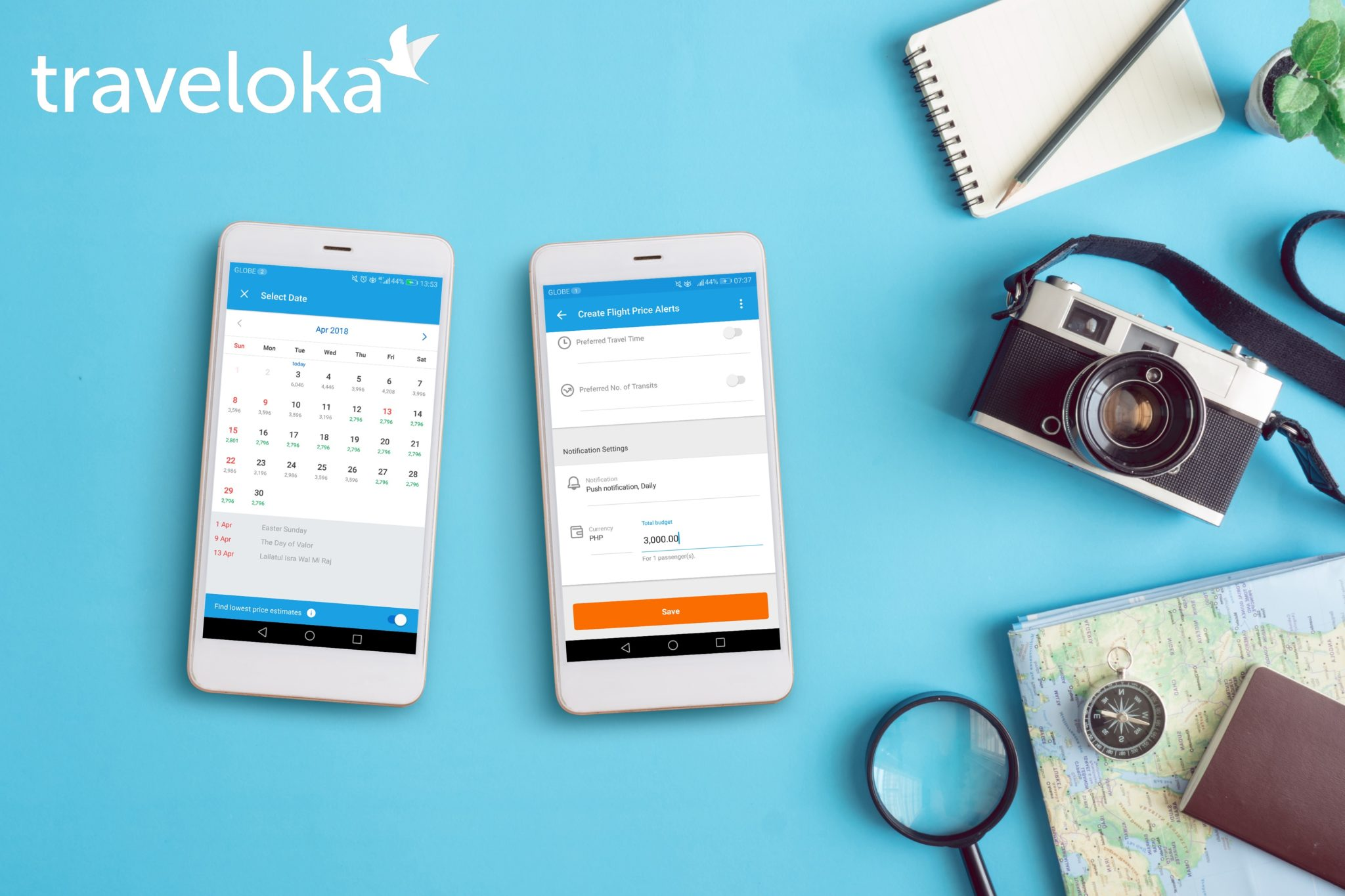 Want a crazy easy online booking experience? Book with Traveloka!