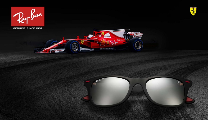 048c20e261 Vision Express Launches the Ray-Ban Scuderia Ferrari Collection ...