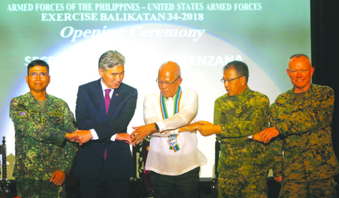 US 'Balikatan' mutual defense exercises open today