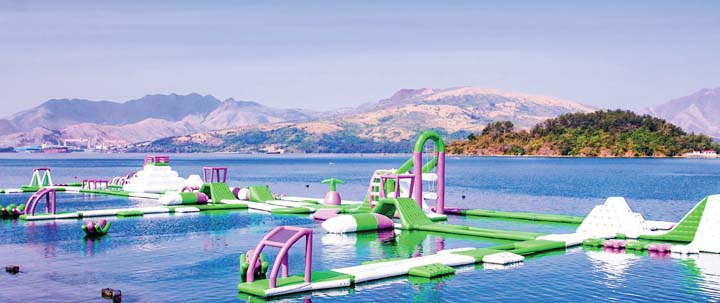 White Rock In Subic Is Most Preferred For Team Building Activities