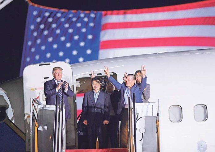 Trump and Kim Jong-un to declare Korean war over, - mass media
