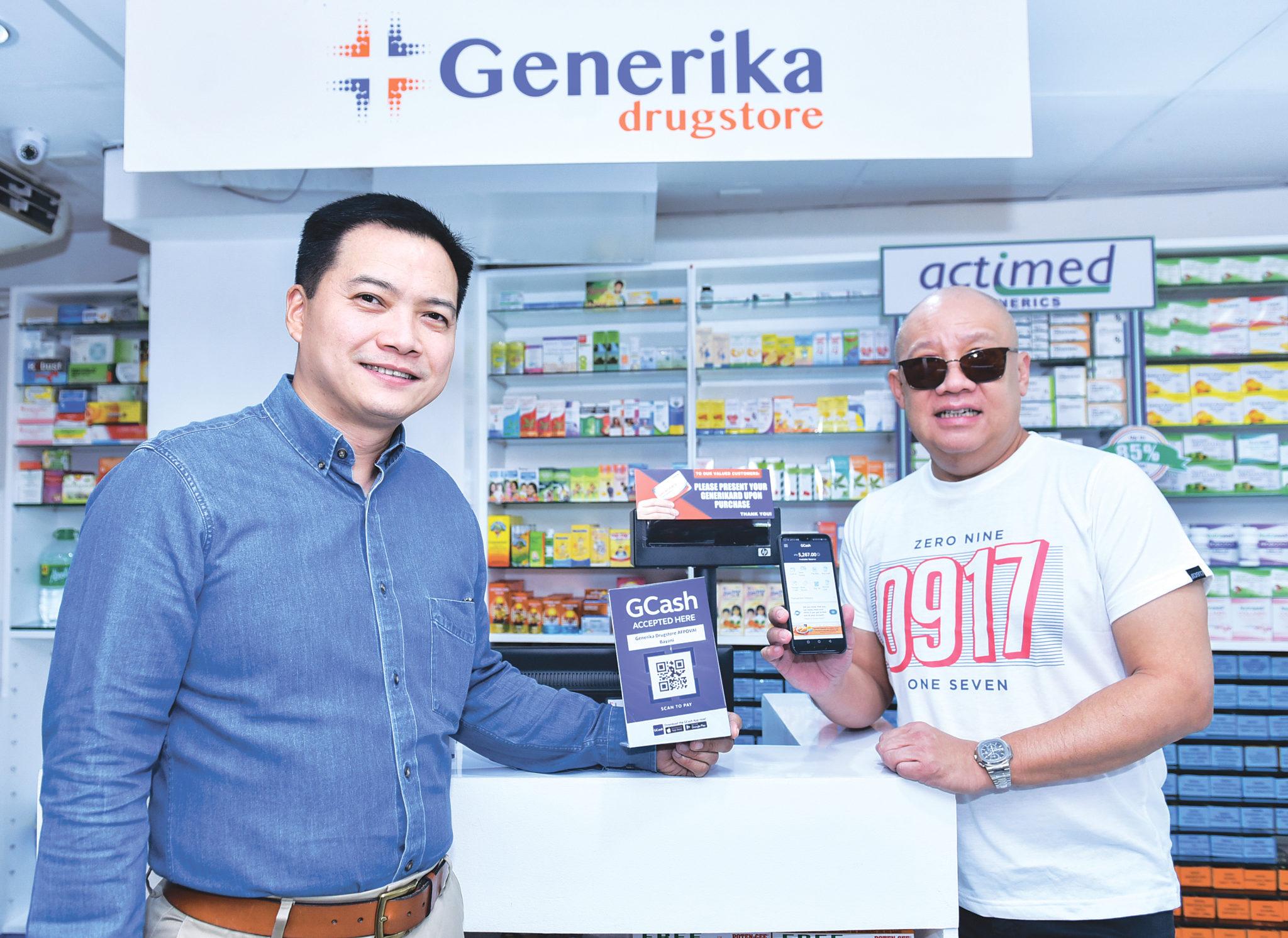Generika drugstore partners with GCash | BusinessMirror