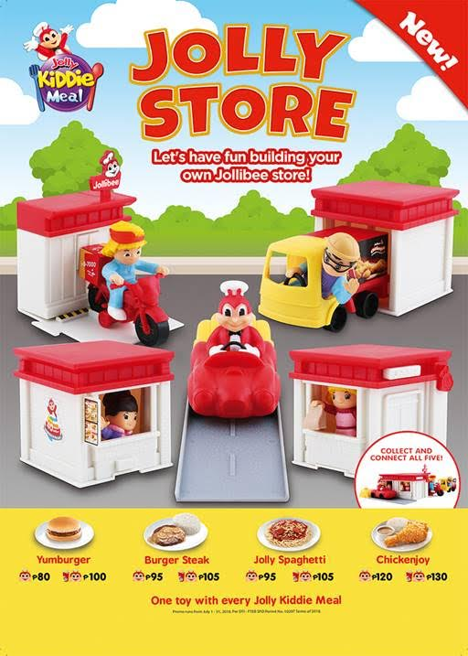 New Jolly Kiddie Meal Toys Let Kids Have Fun Building Their Own