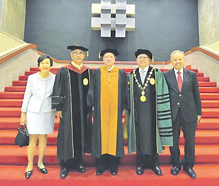 Feu fetes its greatest alumnus of all time businessmirror for Motoring technical training institute