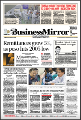 BusinessMirror September 18, 2018