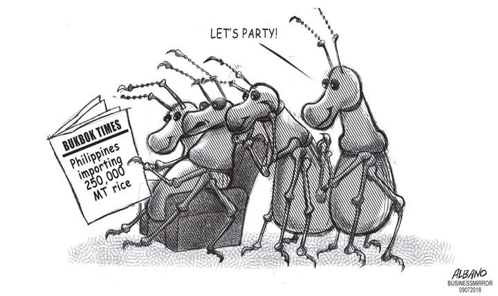 Editorial Cartoon September 07, 2018 | BusinessMirror