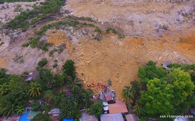 Landslide near quarry site buries 20 homes, kills 3 people
