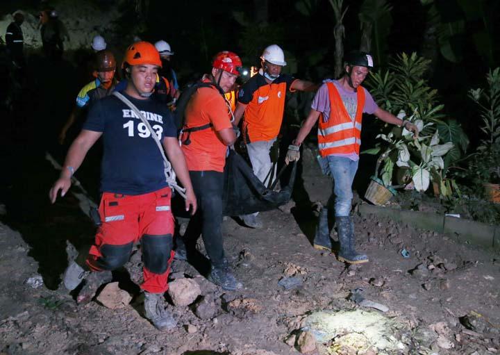 Philippine villages at risk of landslides forcibly evacuated