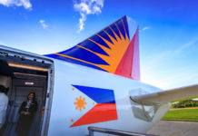 Philippine Airlines PAL at Caticlan airport