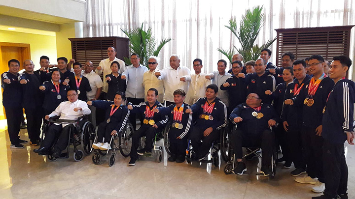 Palace lauds Para Games, Youth Olympic Games medalists