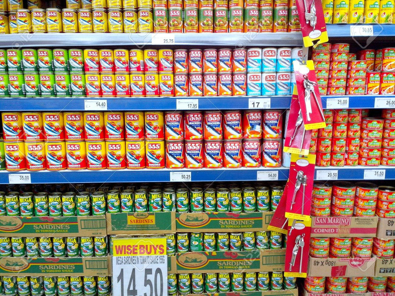 Breads affordable this season, but canned sardines will be a bit more pricey, DTI says