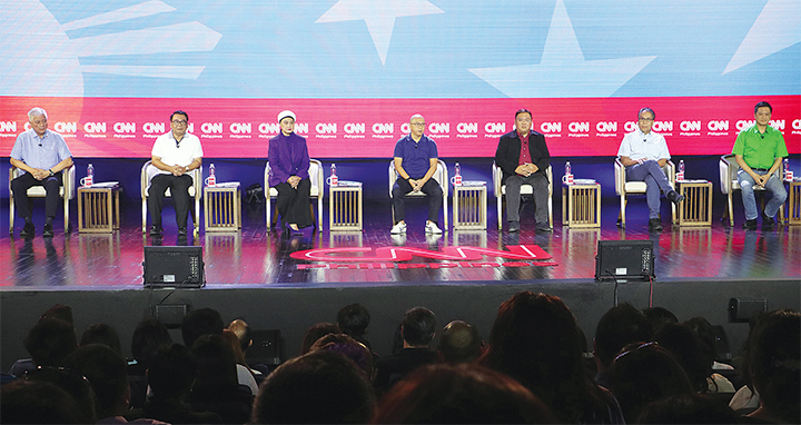 7 senatorial aspirants bare views, plans on issues at CNN