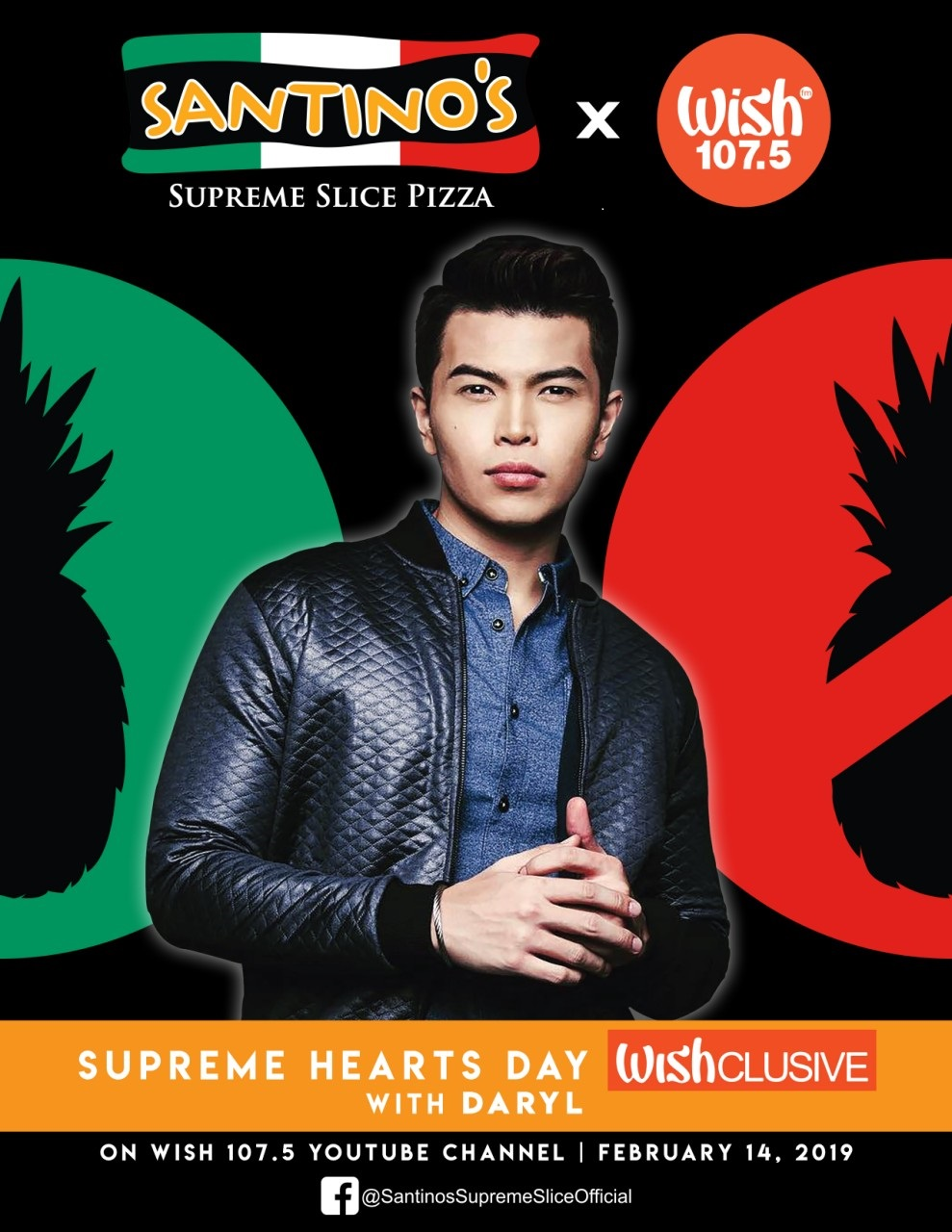 Santino's Supreme Slice supports OPM with WishFM