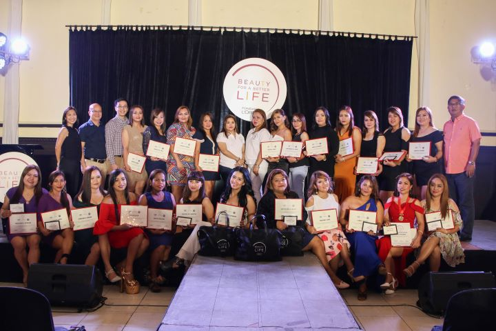 Celebrating L'Oréal's 'Beauty For a Better Life' Graduating