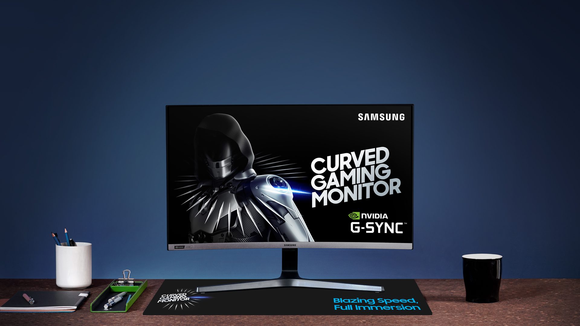 Samsung introduces 240Hz G-Sync compatible curved gaming monitor