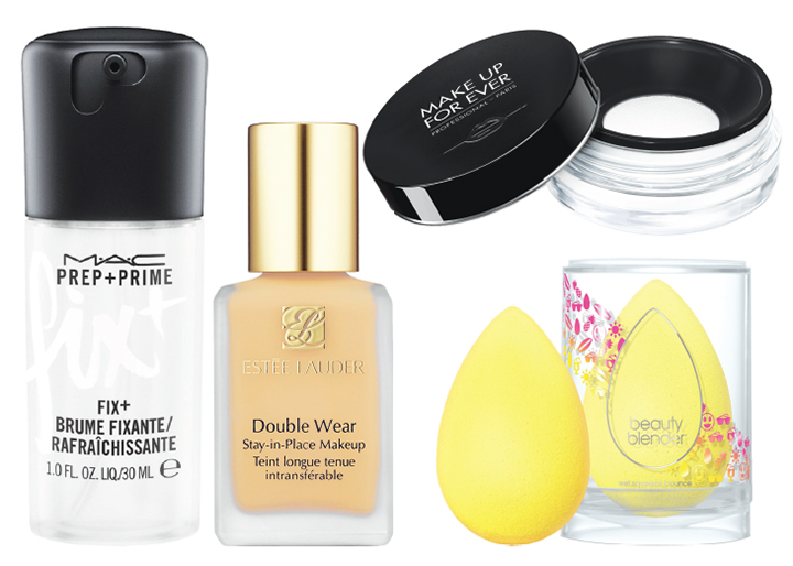 Foundation that's sweat-proof for days that are too hot to