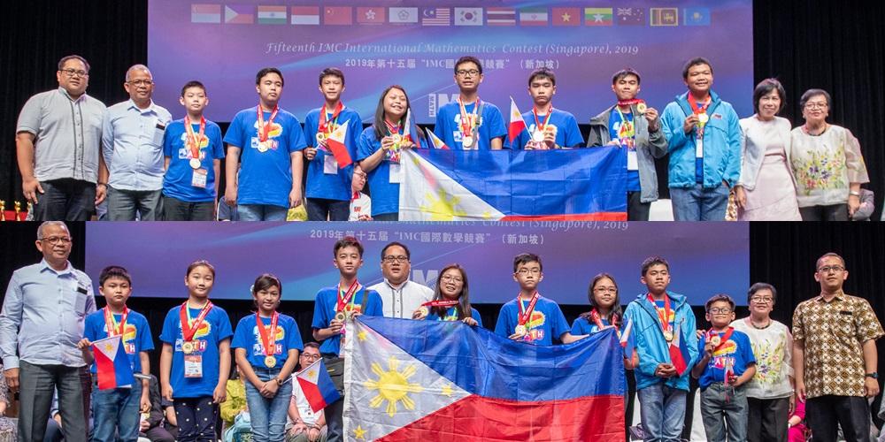 Philippines captures 189 medals in Singapore math contest