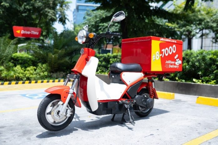 Delivering an eco-friendly solution: Jollibee rolls out E-bike Delivery