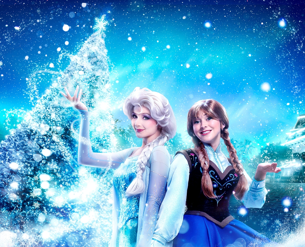 Experience A Frozen Themed Winter Wonderland During A