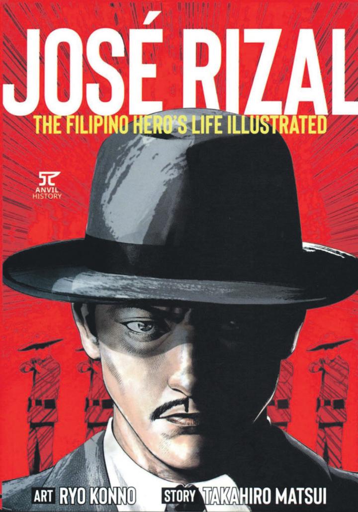 A Filipino hero's story in a Manga