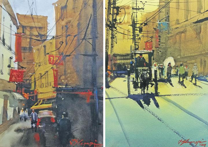 How Filipino painter J.Legaspi sees Maynila