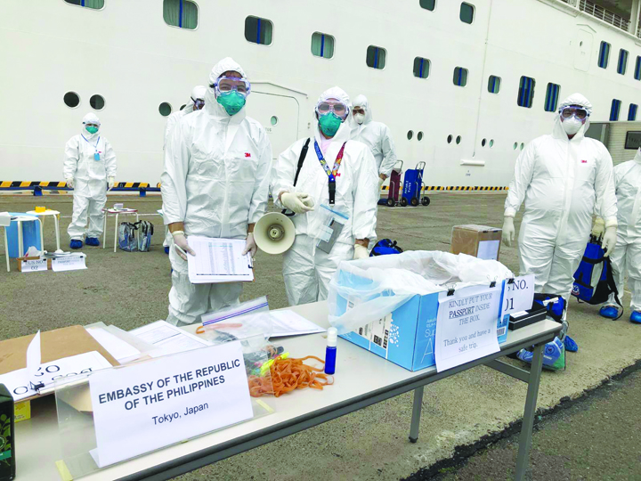 Fourth person from Diamond Princess dies from coronavirus, evacuee to Australia infected
