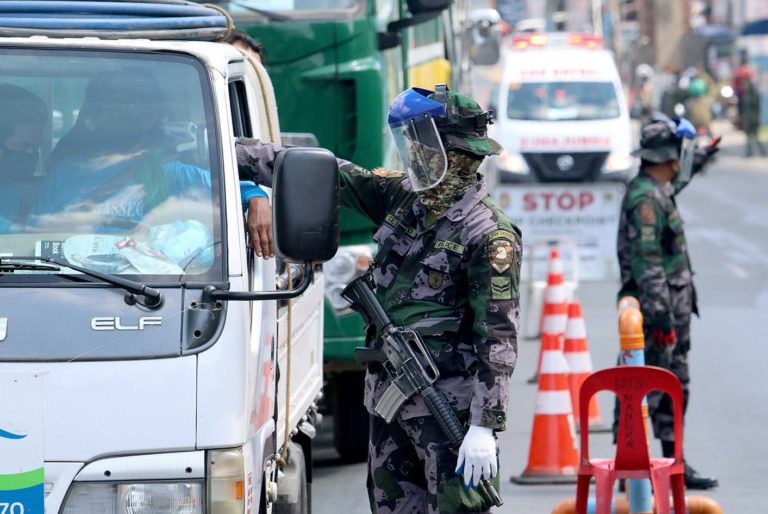 PNP sets up over 1,000 quarantine control points in ECQ areas