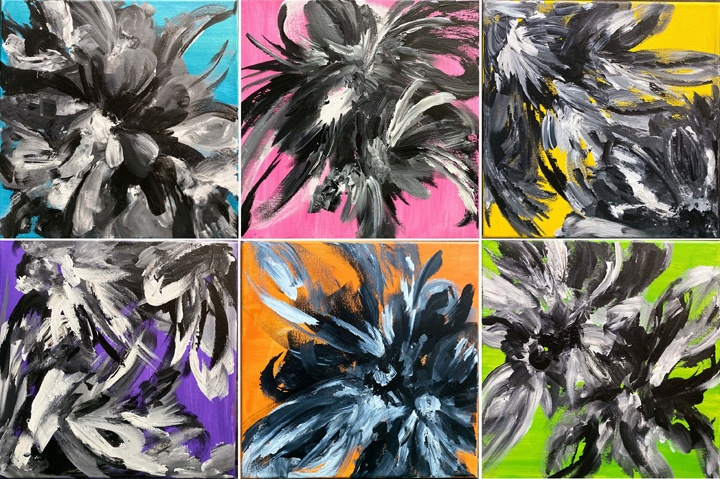 """""""A Beautiful Mess"""" depicts this artist's ECQ life"""