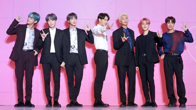BTS' Billboard success expected to create economic effect worth US$1.43b